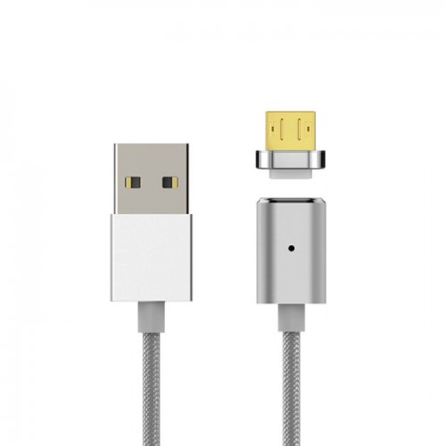 Кабел USB 2.0 Type A - Micro B TPE Magnetic 1м