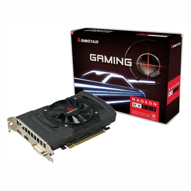 Видео карта AMD RADEON BIOSTAR RX550 4GB
