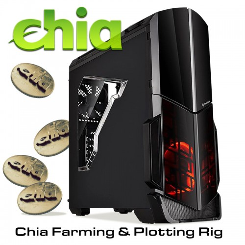 Копач за криптовалута Chia coins