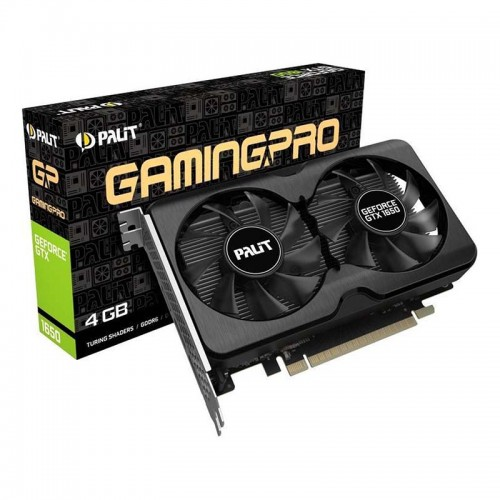 Видео карта PALIT GTX1650 GamingPro OC 4GB