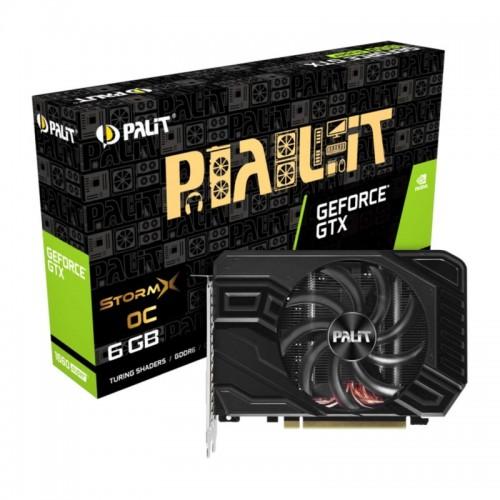 Видео карта PALIT GTX1660 SUPER STORMX OC 6GB