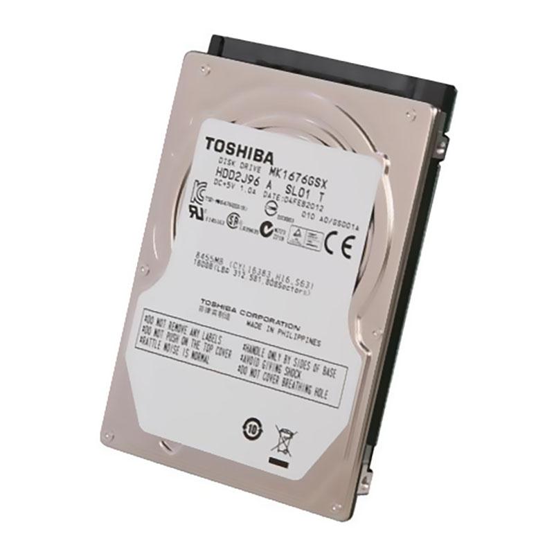 """Твърд диск Toshiba 160GB MK1676GSX 2.5"""""""