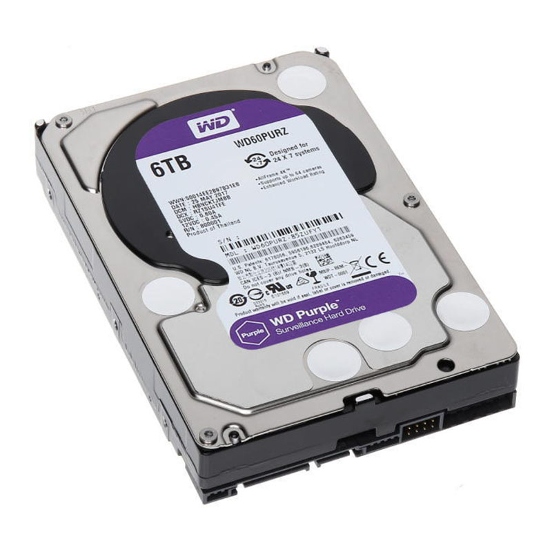 Твърд диск Western Digital PURPLE 6TB HDD СУПЕР ОФЕРТИ