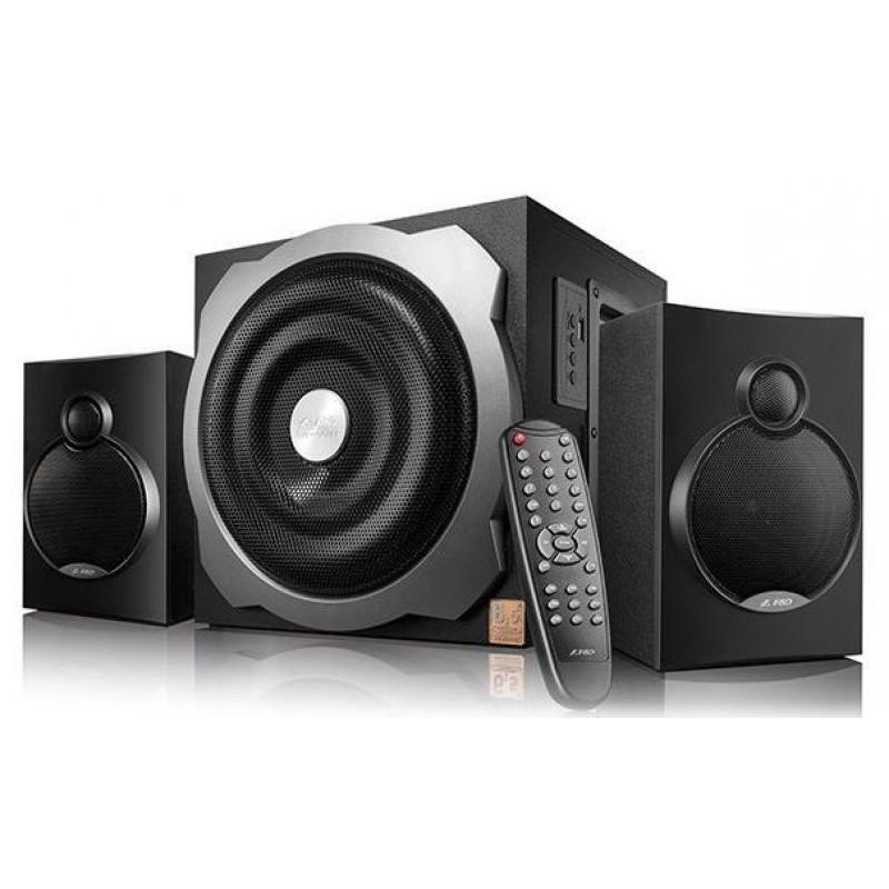 Аудио Колона FENDA A521X, 2.1, 52W, Черен/сив