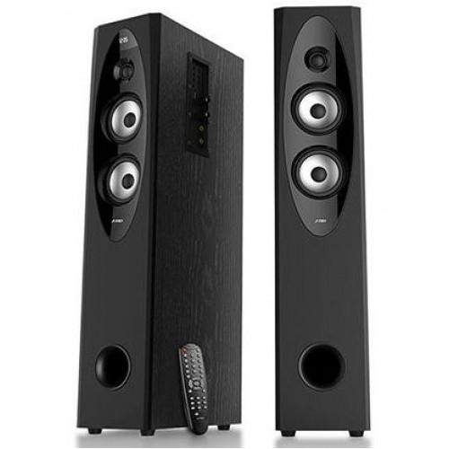 Аудио Колони FENDA T-60X, 110W, Bluetooth, USB, черни, безжични, дистанционно, радио, дисплей