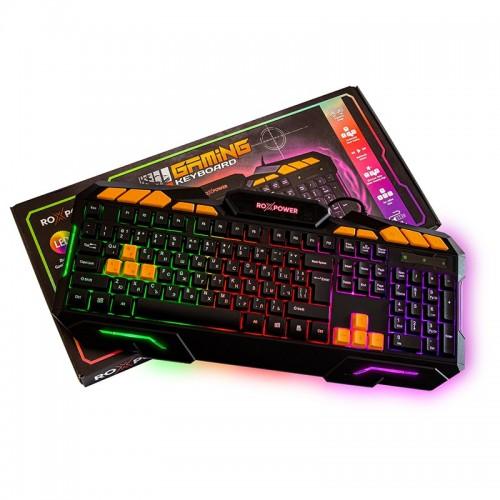 Гейминг клавиатура ROXPOWER G-8100 Gaming LED