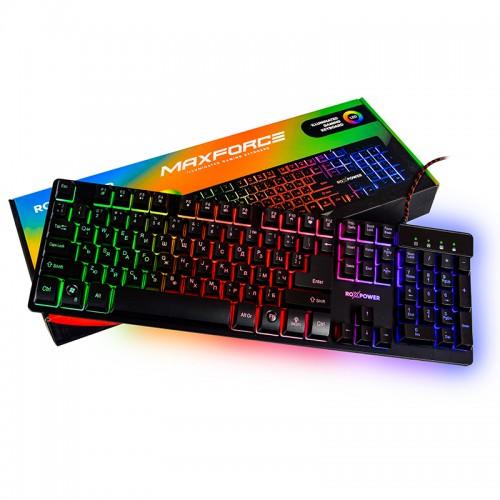 Гейминг клавиатура ROXPOWER MAXFORCE GK-20