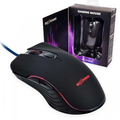 Гейминг мишка ROXPOWER G20 Gaming RGB