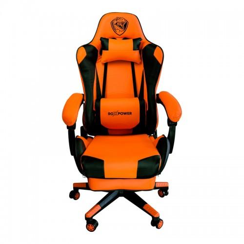 Гейминг кресло ROXPOWER Gaming T-ROX GC75 оранжев