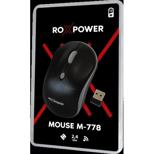 Компютърна мишка безжична ROXPOWER M-778