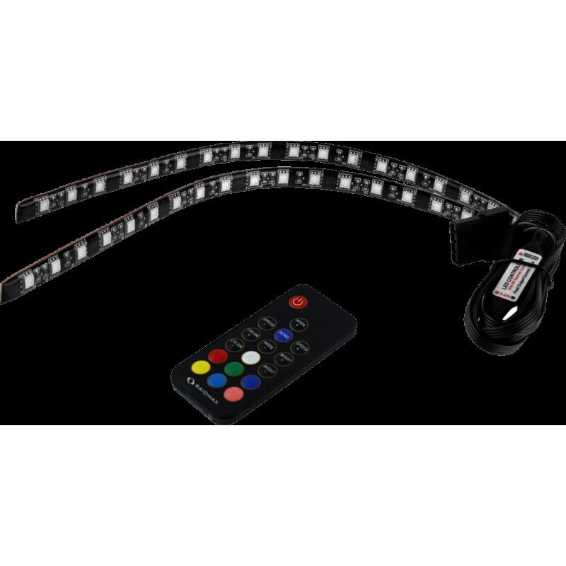 RAIDMAX LED лента за компютърни кутии LD-302R, 30cm, RF remote controll