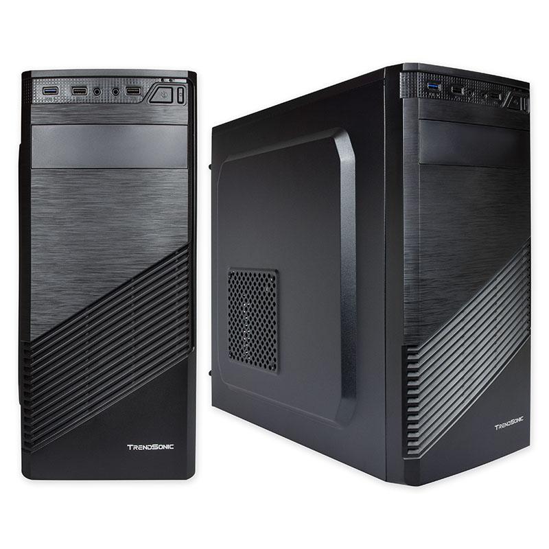 Компютърна кутия със захранване TrendSonic FC-F61A ATX 550W 120mm