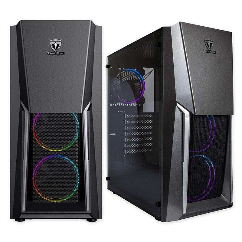 Компютърна гейминг кутия Trendsonic PIONEER FC-PI07A-S