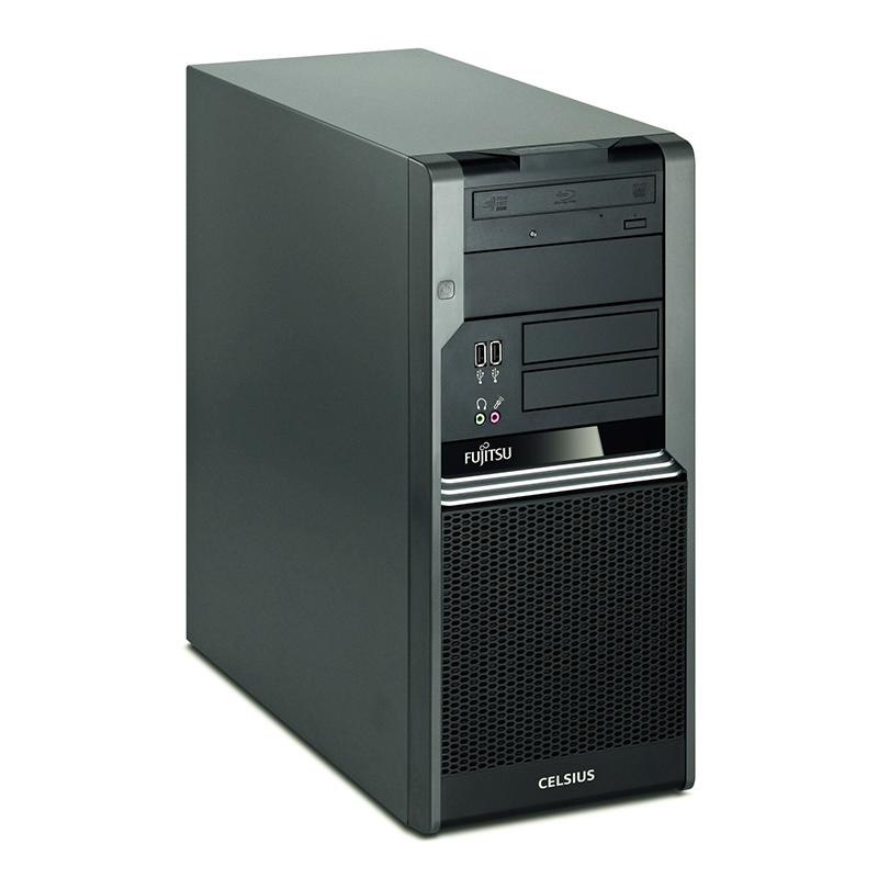 Реновиран настолен компютър Fujitsu Celsius W380