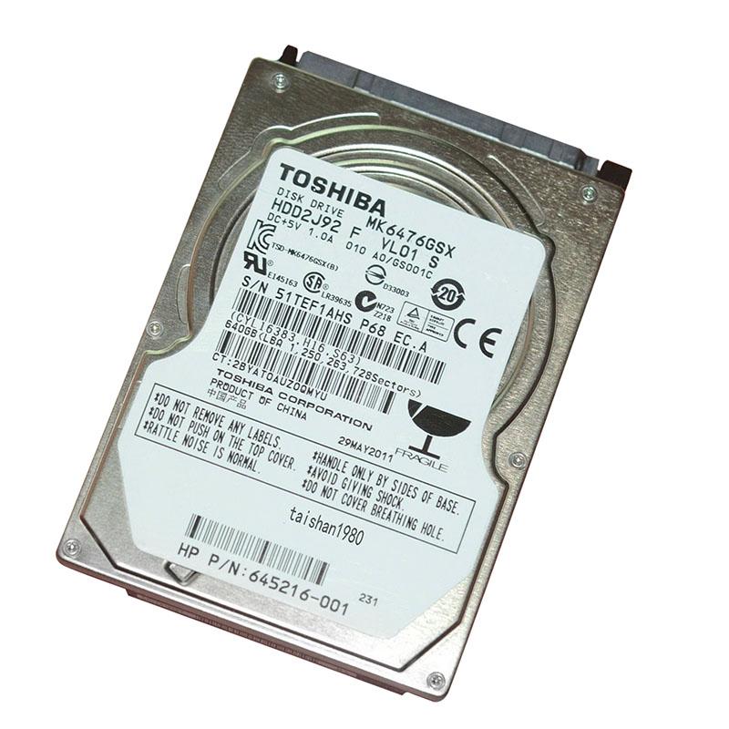 Твърд диск втора употреба Toshiba 500GB SATA 2.5